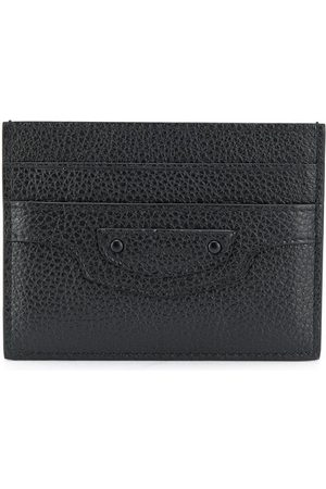 Balenciaga Textured leather cardholder