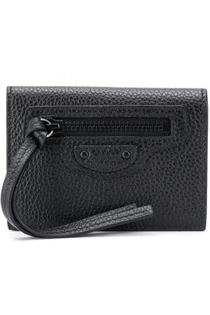 Balenciaga Textured leather wallet