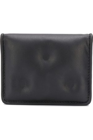 Maison Margiela Signature four-stitch and number list patch cardholder