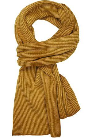 Profuomo Heren gele wol mix sjaal