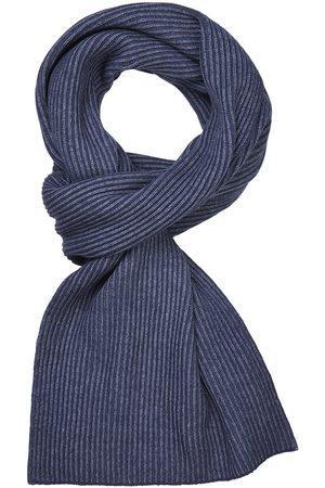 Profuomo Heren denim wol mix sjaal