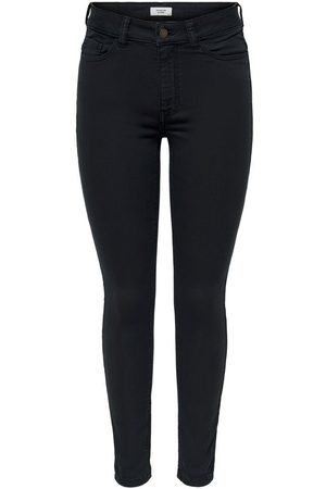 Only Dames Skinny - Jdyara Life High Skinny Fit Jeans Dames Zwart