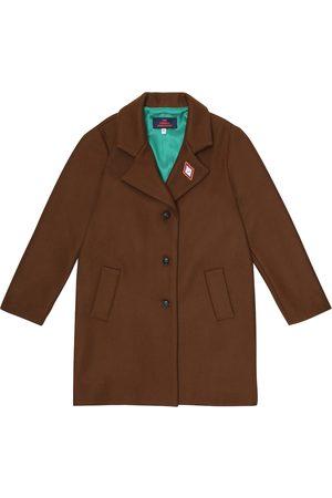 The Animals Observatory Jaguar wool-blend coat