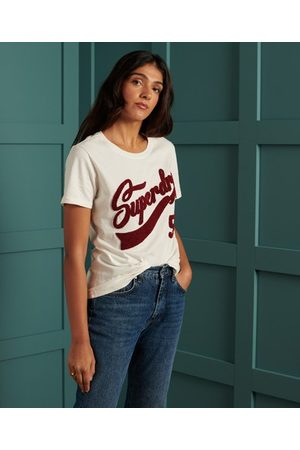 Superdry Limited Edition College T-shirt van chenille