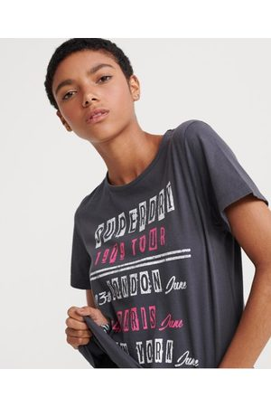 Superdry Wijdvallend Tour T-shirt