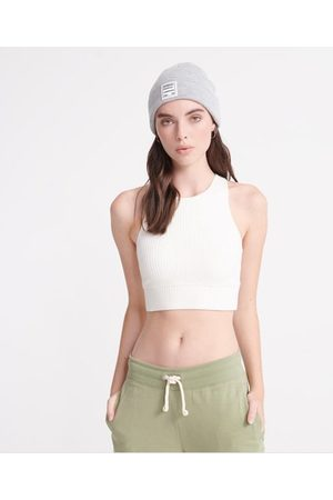 Superdry Desert Rib Crop top