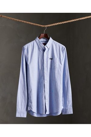 Superdry Classic University Oxford overhemd met lange mouwen