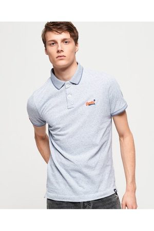 Superdry Heren Poloshirts - Orange Label Jersey polo
