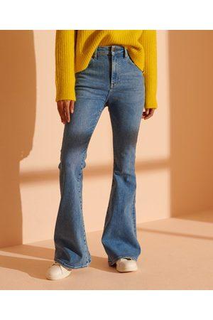 Superdry Skinny Flare jeans met hoge taille