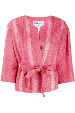 CHANEL Double-breasted belted jacket