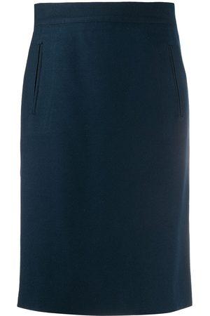 Gianfranco Ferré 1990s knee-length wrap skirt
