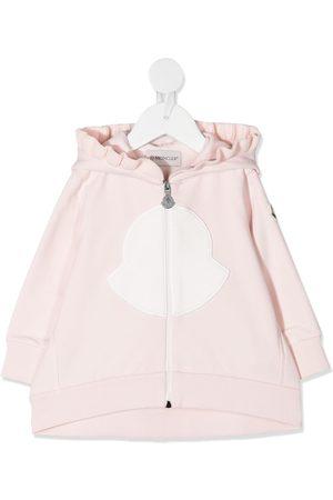 Moncler Ruffle trim zipped jacket