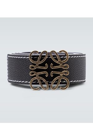 Loewe Heren Riemen - Anagram reversible leather belt