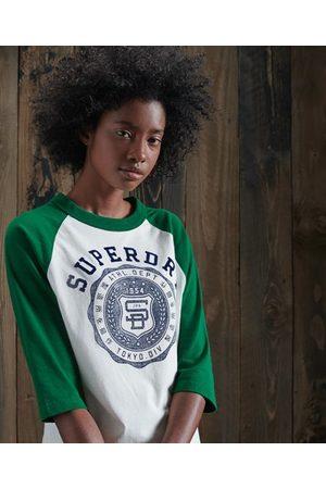 Superdry Dames T-shirts - Team Varsity baseballtop