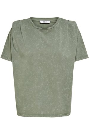 Only Loose Fit T-shirt Dames Green