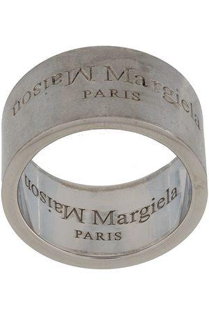 Maison Margiela Engraved-logo ring