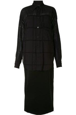 Y'S Layered shirt dress