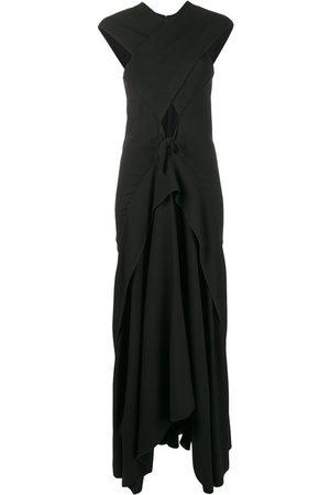Proenza Schouler Sleeveless cross-over long dress
