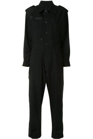 YOHJI YAMAMOTO Button-up shirt jumpsuit