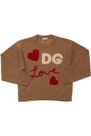 Dolce & Gabbana Wool & Cashmere Blend Knit Sweater