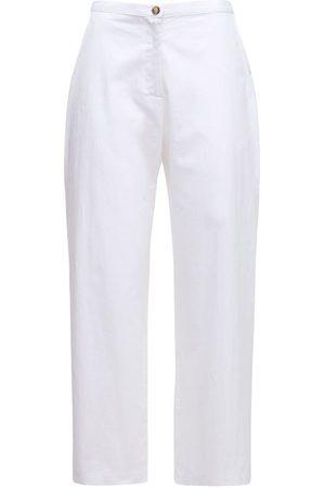 Ciao Lucia Pietro Washed Cotton Chino Pants