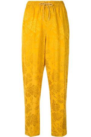 Karen Walker Dahlia jacquard trousers