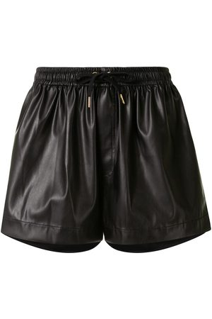 Karen Walker Dames Shorts - Maple faux-leather shorts
