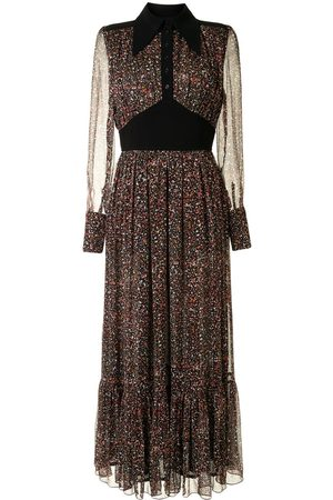 Karen Walker Botanist's tiered maxi dress