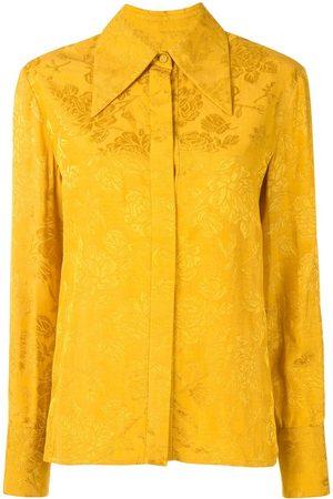 Karen Walker Floral jacquard shirt