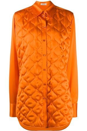Nina Ricci Quilted longline shirt