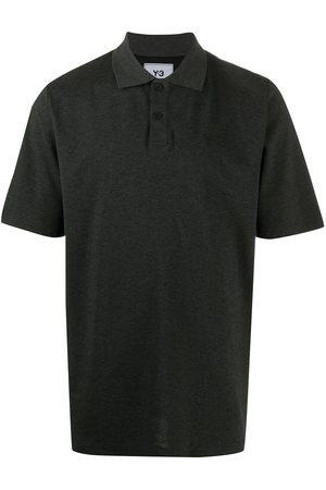 Y-3 Logo print polo shirt
