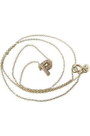 Christian Gouden ketting met p zirkonia hanger