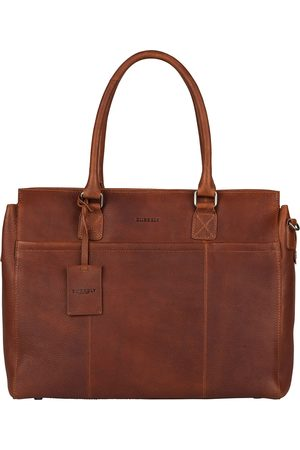 Burkely Laptop schoudertas Antique Avery Laptopbag 1-Zip 15.6 Inch