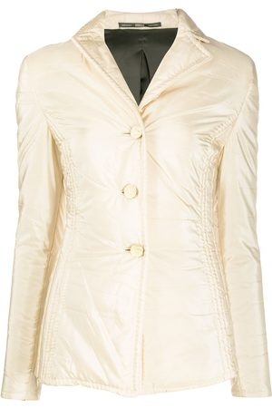 Gianfranco Ferré 1990s single-breasted padded jacket