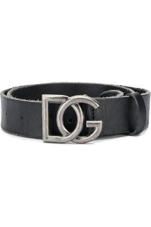 Dolce & Gabbana Adjustable DG buckle belt