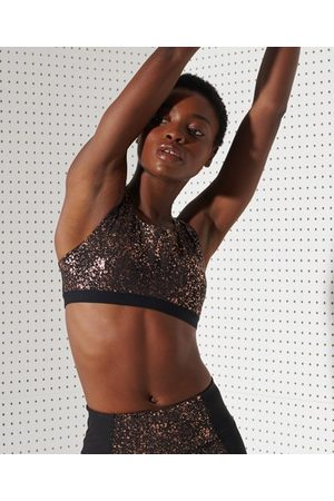 Superdry Dames Sport bh's - Sport Flex beha met gekruiste rugbandjes