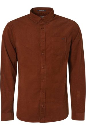 No Excess Shirt long sleeve fine corduroy rusty