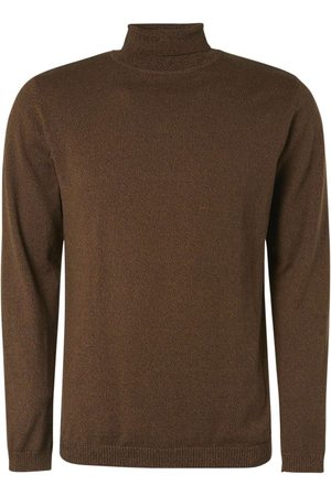 No Excess Pullover turtleneck bronze