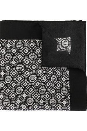 Dolce & Gabbana Heren Pochetten - Geometric print silk pocket square