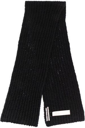 Rick Owens Chunky knit scarf
