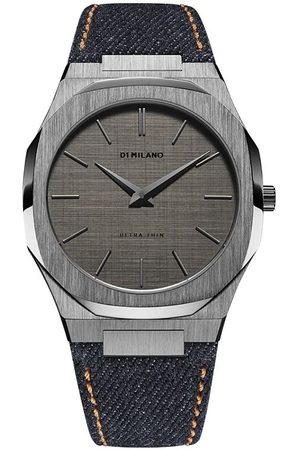 D1 MILANO Denim Ultra Thin 40mm watch