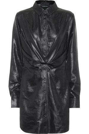 RTA Dames Korte jurken - Vivienne faux leather minidress
