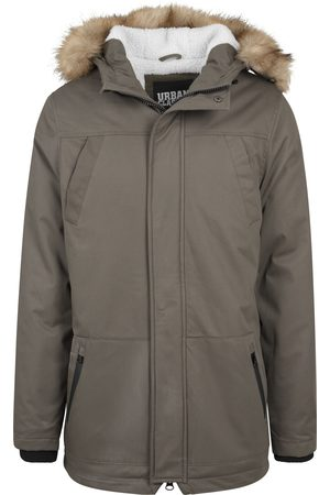 Urban classics Heren Bontjassen - Winterparka 'Heavy Cotton Imitation Fur