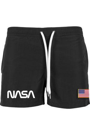 Mister Tee Zwemshorts ' NASA Worm Logo Swim Shorts