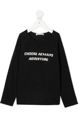Zhoe & Tobiah Adventure raglan-sleeve sweatshirt