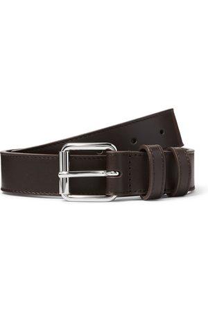 Comme des Garçons Heren Riemen - 3cm Leather Belt