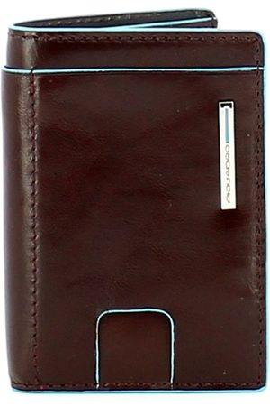 Piquadro Blue Square Rfid Credit Card Holder