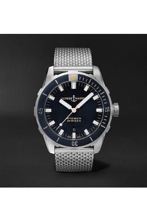 Ulysse Nardin Heren Horloges - Diver Automatic 42mm Stainless Steel Watch, Ref. No. 8163-175-7M/92