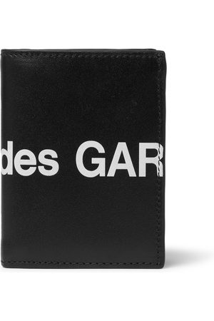 Comme des Garçons Logo-Print Leather Billfold Wallet