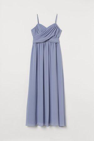 H&M Dames Lange jurken - + Lange bandeaujurk